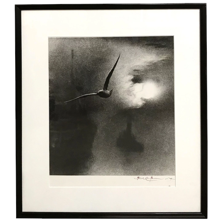 d6f2e9f864 Bill Brandt Hand Signed Black   White Photograph - Early Morning on   New  Hampshire Antique Co-op