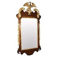 18th Century George III Mirror in Mahogany