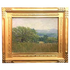Henry Ryan MacGinnis Oil Painting Impressionist Landscape circa 1910