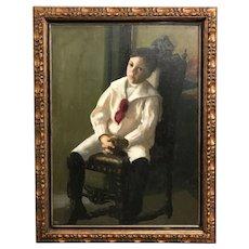 Early 20th c American School Portrait of a Boy