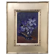 Stephen Motyka Impressionist Oil Painting, Floral Still Life