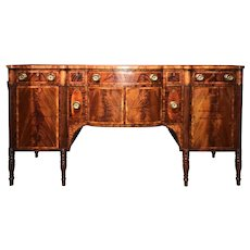 Exceptional Portsmouth, NH Sideboard Attributed to Judkins & Senter, circa 1810