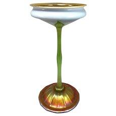 Exquisite Tiffany Studios Flower Form Iridescent Vase