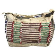 Desirable 19th Century Native American Plains Cheyenne Teepee Bag