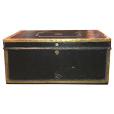 18th / 19th c Camphor Wood Trunk Owned by NH Governor John Taylor Gilman