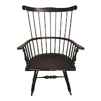 Period 18th / 19th c Pennsylvania Comb Back Windsor Rocking Chair