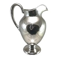 Fine Kalo Shop Handwrought Sterling Silver Water Pitcher circa 1930