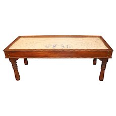 Intricate Rope Work Nautical Coffee Table in the Style of Clifford M. Ashley