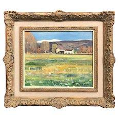 Rafael Duran Benet Spanish Impressionist Landscape Oil Painting