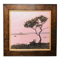 Erick Ingraham Coastal Maine Landscape Oil Painting, Kittery Point Remembered