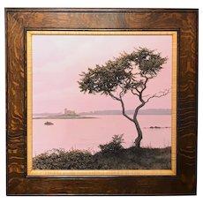 Erick Ingraham Coastal Maine Landscape Oil Painting, Kittery Point Remembered