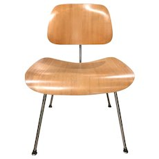 "Eames DCM ""Potato Chip"" Side Chair by Herman Miller circa 1955"
