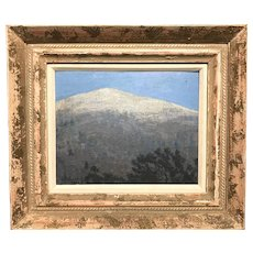 E.B. Cooke New Hampshire Landscape Oil Painting of Mount Monadnock, 1911