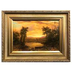 Erik Koeppel Landscape Oil Painting, Walden Pond, A Vision