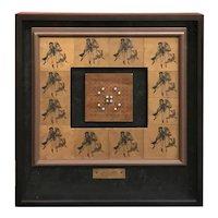 Robert Hauser Framed Assemblage, Celestial Harmony - Pas de Deux