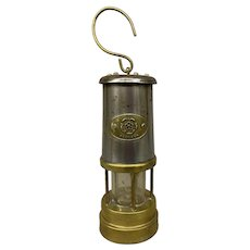 Nedd Products Ltd Antique English Brass Miners lamp or Lantern