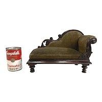 Miniature or Salesman Sample 19th Century Grecian Sofa or Recamier