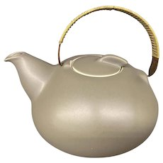 Heath Mid Century Ceramic Teapot Sausalito, CA