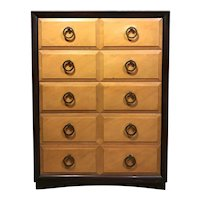 Tall Five Drawer Midcentury Chest Moderne by Widdicomb Furniture Co.