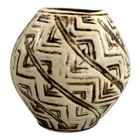 Midcentury Robertson Hollywood California Art Pottery Vase