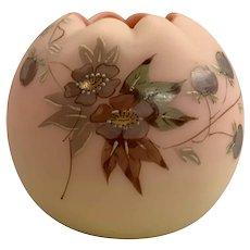Victorian Webb Decorated Burmese Miniature Rose Bowl