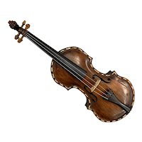 Exceptional Sailor-Made Child's Wooden Violin