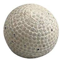 Rare Spalding Vardon Flyer Gutta Percha Golf Ball circa 1900