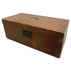 Evelena Donham's 19th Century Fancifully Painted Box