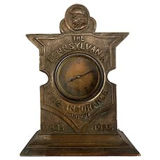 Pennsylvania Fire Insurance Company Centennial Clock 1925