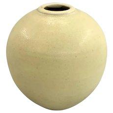 Otto Heino Yellow Glaze Ceramic Vase