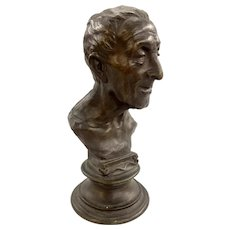 Vincenzo Gemito Bronze Bust of a Noble