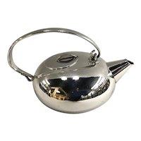 Lino Sabattini for Christofle Modernist Boule Teapot circa 1960's