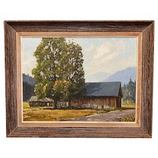 Robert Shaw Wesson Oil Painting Landscape, Probably Vermont
