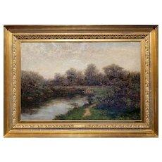 Robert Ward Van Boskerck Oil Painting Landscape, When Woods Are Green