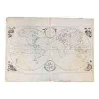Bowles's  New Pocket Map of the World, 1780