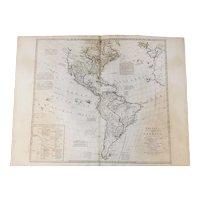 Bowles's New Pocket Map of America, circa 1770's