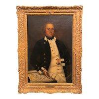 Sir William Beechey Oil Painting Portrait of Admiral Vernon