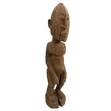 Small African Carved Wooden Totem Tribal Figure