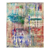 Kloe Vano Abstract Expressionist Oil Painting, Nature