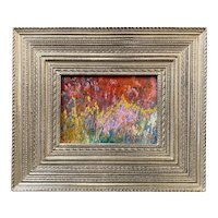 Stephen Motyka Impressionist Oil Painting, The Colorful Garden