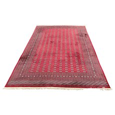 20th Century Large Room Size Pakistani Bokhara Hand Knotted Area Rug