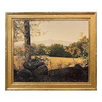 Erick Ingraham Landscape Oil Painting, Golden Afternoon Mount Monadnock