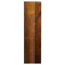 "Peter Sandback Inlaid Maple Wall Hanging ""Untitled 10"" 2015"