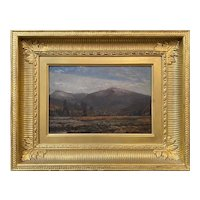 Winckworth Allan Gay Landscape Oil Painting, White Mountain Range from Shelburne, NH circa 1865