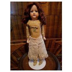 Vintage Pale Pink Lace Doll Pantaloons