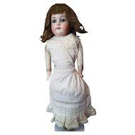 Antique Cream Cotton Fancy Doll Slip
