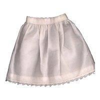 Vintage White flannel Doll Slip