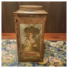 Morses Duchess Brand Confections   5 Pound Tin