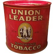 Union Leader Tobacco Tin