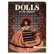 Vintage Crochet Patterns Magazine for Dress Me Dolls
